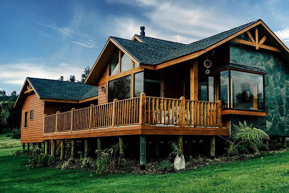 Casas madera personalizadas alto est ndar rokar - Madera para casa ...